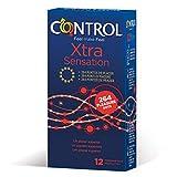 Control Xtra Sensation Preservativos - 12 Unidades