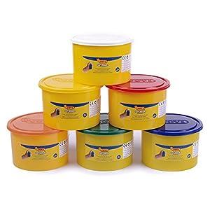 Jovi - Soft Dough Blandiver, Bote de 460 g, Color Magenta flúor (46002F)