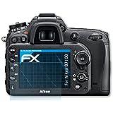 atFoliX Film Protection d'écran Nikon D7100 Protecteur d'écran - Set de 3 - FX-Clear ultra claire