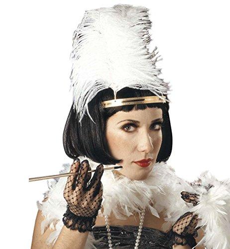 WIDMANN-Perücke, Modell Charleston, (Spanisch Jazz Kostüm)