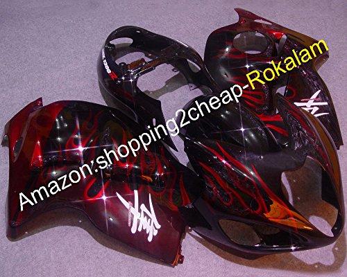 Hot de vente, personnalisé Hayabusa Carénages Gsxr1300 1999-2007 GSX R1300 GSXR 1300 R1300 Kits de Carénage Moulage par injection ()