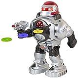 GBL® Robot Radiocomandato - Spara dischi, Balla, Parla - Robot RC Super Divertente - Robot Camminante