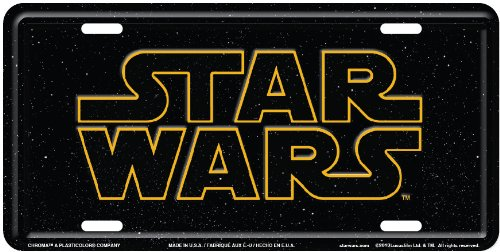 License Cover Front Plate (Chroma 002033 'Star Wars' Metall Tag License Plate)