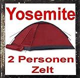 Yosemite Zelt 2 Personenzelt Kuppelzelt Campingzelt 2 Personen IGLU Moskitonetz