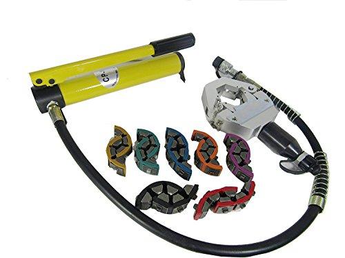 MXBAOHENG Hydraulikschlauch Crimpzange SD-7842B Handheld Hydraulikschlauch Crimpwerkzeug AC Repair Tools Schlauch Bördelmaschine Crimpmaschine -