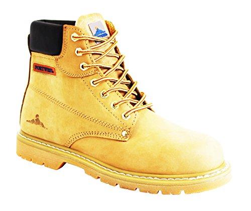 Goodyear Bottes/chaussures de « non-sécurité »/chantier/style décontracté en cuir avec coutures apparentes Tailles 39 à 46