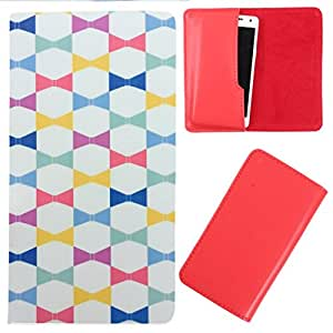 DooDa - For Karbonn Android One Sparkle V PU Leather Designer Fashionable Fancy Case Cover Pouch With Smooth Inner Velvet