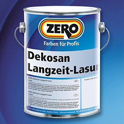 Mahagoni Lack (Zero Dekosan Langzeit-Lasur 2,5 Liter Mahagoni)
