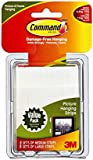 Command Medium and Large Picture Hanging Strips Value Pack, 4 pairs medium, 8 pairs large