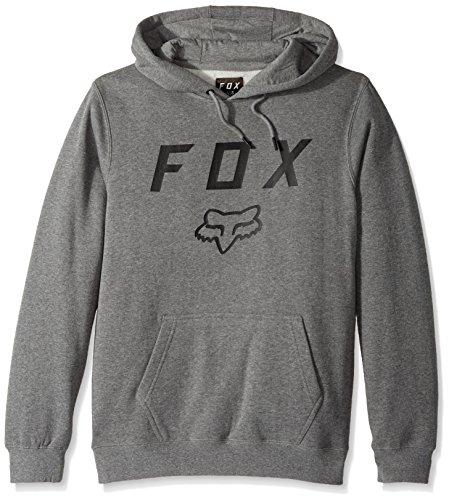 Fox Hoody Legacy Moth Heather Graphite grey