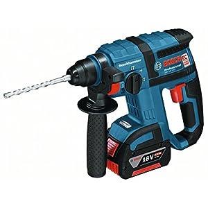 Bosch GBH 18 V-EC rotary hammers 1400 RPM – Martillo perforador (1,8 cm, 1400 RPM, 1,7 J, 4550 ppm, 1,3 cm, 2 cm)
