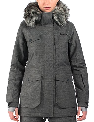 Bench Damen Funktionsjacke Fourrun, Dark Shadow, M, BLKF0087