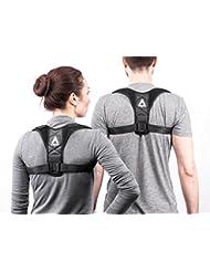 Athletics Armour Haltungskorrektur - Geradehalter für Rücken und Schultern für Damen, Herren und Kinder - orthopädischer Rückengurt mit extra Schaumstoffpolstern für mehr