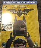 The LEGO Batman Movie Steelbook Exclusive 3D+2D + Digital Download Limited Edition Steelbook Region Free + Gift Steelbook's™ foil