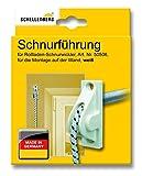 Schellenberg 11034 Schnurführung, weiß