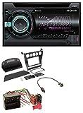 caraudio24 Sony WX-900BT USB AUX MP3 2DIN CD Bluetooth Autoradio für BMW 5er (E60 2003-2007)