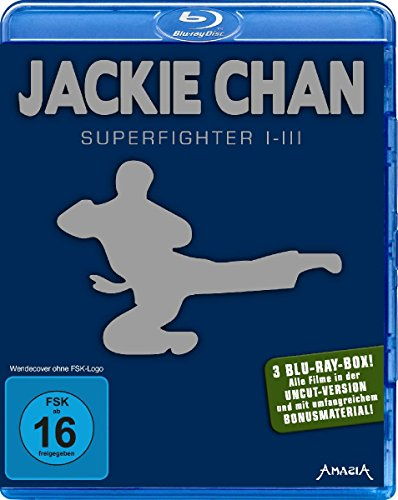 Jackie Chan - Superfighter 1-3 [Blu-ray] (Jackie Blu-ray Collection Chan)