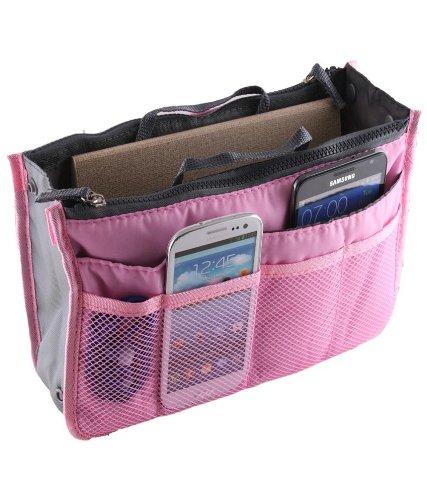 Multipurpose HandBag Organizer - Baby Pink