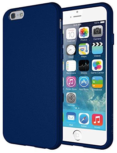 Diztronic IP6-FM-BLUE Vollmatte flexible TPU Schutzhülle für Apple iPhone 6/6S - Otterbox-fälle Blau 6 Iphone