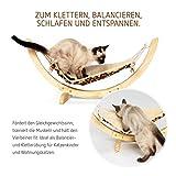 Pro Petcare   Hängematte für Katzen, Spielzeug, Schlafplatz und Trainingsgerät in Einem - 5