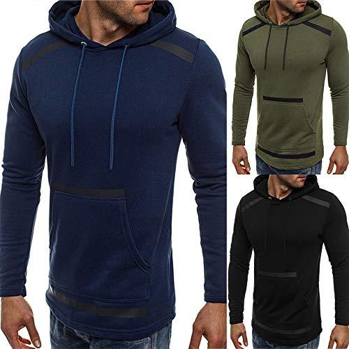 Day.LIN Kapuzen-Sweatshirt Kapuzenpullover Tops, T-Shirts & Hemden für Herren