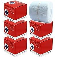 Blue Lion 5 cm Premium einzeln verpackte EAB elastische Bandage Bandage Stützband Sportband preisvergleich bei billige-tabletten.eu