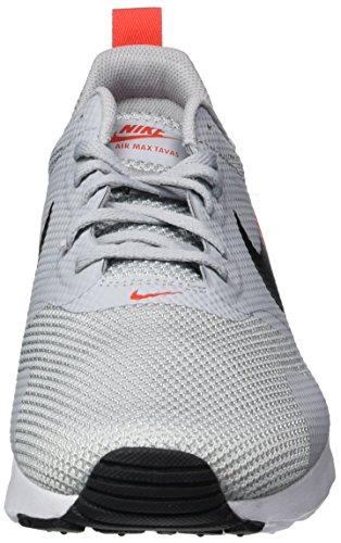 Nike  Air Max Tavas, Sneakers basses homme Gris (Wolf Grey/black-max Orange)