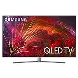 Samsung Tv Qled 55 Pollici Q8FN Serie 8, Televisore Smart 4K Uhd, Hdr, Wi-Fi