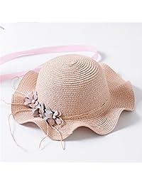 AdorabFitting-Cap Sombrero Cap Hat Gorras Gorra béisbol Bonnet Paja Viseras  Niño Mujer Linda niña db81633e04a