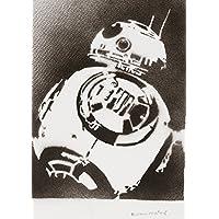 Poster BB-8 Droide STAR WARS Handmade Graffiti Street Art - Artwork