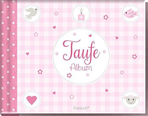 Taufe Album (rosa)