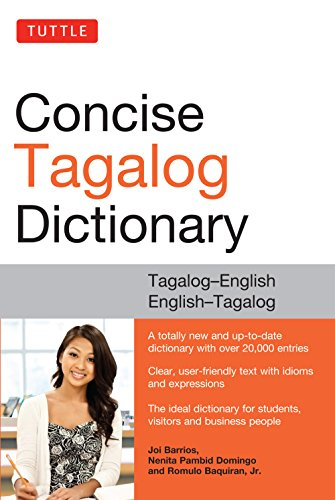 Tuttle Concise Tagalog Dictionary: Tagalog-English English-Tagalog (English Edition)