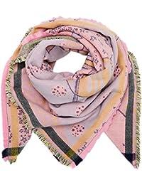 Codello Damen Schal 72095809 Rosa (Light Pink 10), One size (Herstellergröße: 140 X 140 cm)