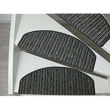 Teppichwahl Carpet Stair Pads//treads Lilongwe 65 X 25 Cm Blue Hard Coal  Beige ...