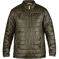 fjall Raven Abisko Sudadera Padded Jacket, color verde/naranja, tamaño medium