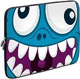 Sidorenko Tablet PC Tasche für 7-8 Zoll | Samsung Galaxy Tab 3 / Apple iPad mini | Universal Schutzhülle | Hülle Sleeve Case Etui aus Neopren, Blau