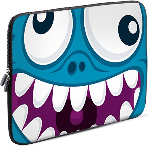 SIDORENKO Tablet PC Tasche für 10 - 10.1 Zoll | Universal Tablet Schutzhülle | Hülle Sleeve Case Etui aus Neopren, Blau