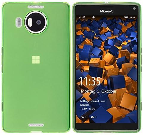 mumbi Schutzhülle für Microsoft Lumia 950 XL Hülle transparent