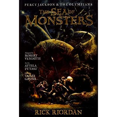 Percy Jackson and the Olympians, Tome 2 : The Sea of Monsters