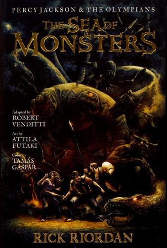 Book cover for The Sea of Monsters