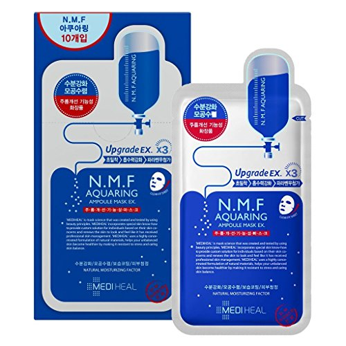 Mediheal Ampoule Mask - N.W.F Aquaring (Natural Water Factor) 10pcs