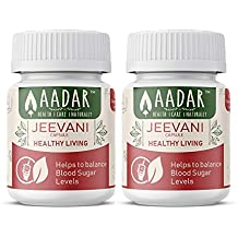 JEEVANI Capsules - Supports Healthy Glucose Levels and Detoxification (with Aloe Vera & Neem) – 60 Capsules (Pack of 2)