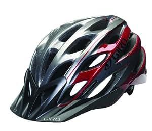 Giro Phase 10 Casco da bici, Rosso scuro/Titanio, S (51-55cm)