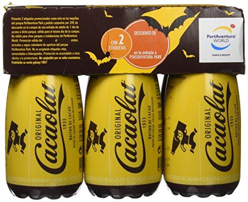 Cacaolat - Batido de cacao UHT - pack de 6 x 200 ml - [Pack de 4]