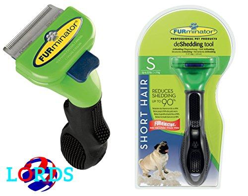 Produktbild FURminator S Kamm Bürste Hunde von 4, 5 - 9 kg kurzhaar unter 5 cm