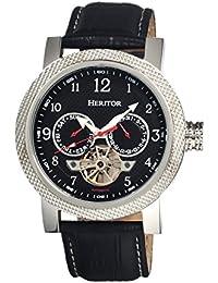 heritor automatic HERHR1502 - Reloj , correa de cuero color negro