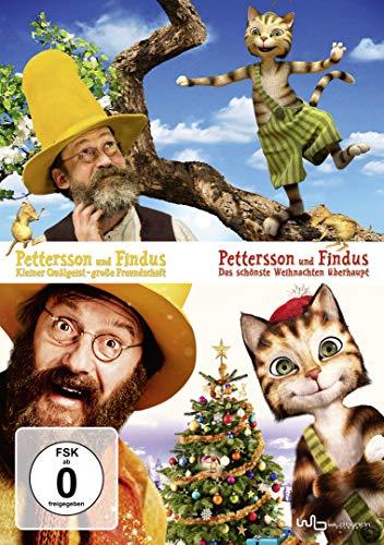 Pettersson und Findus: Kleiner Quälgeist große Freundschaft / Das schönste Weihnachten ... [2 DVDs]
