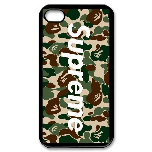 iPhone 4 4s Custom Phone Covers Supreme Brand Logo Cell Phone Case Q24264621