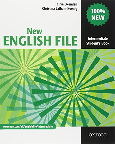 New english file. Intermediate. Entry checker-Student's