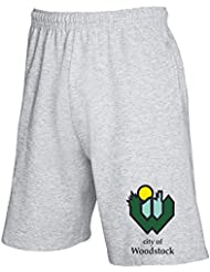 T-Shirtshock - Jogginghose Shorts TM0067 City Of Woodstock citta